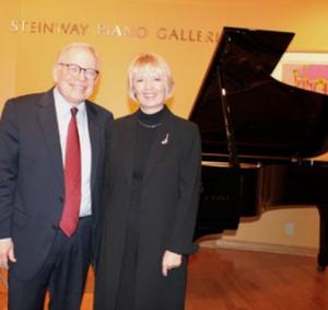Peter Takacs, Oberlin conservatory, and the program coordinator Raisa Isaacs