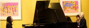 PIANO CONCERTO: Deborah Brown and Raisa Parmentier Isaacs perform Piano Concerto by S. Rachmaninoff No.2 at the Steinway Piano Gallery