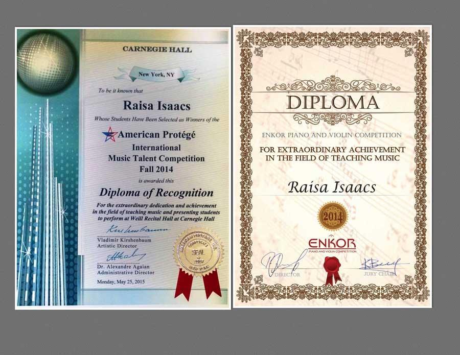 My Diplomas 2014 15 2